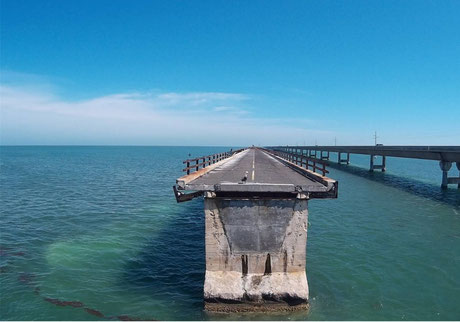 Bild: Seven Mile Bridge, Key West, USA, Florida