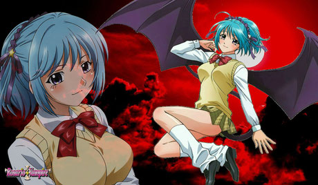 Kurumu Kurono est un succube du manga et animé rosario vampire. Source:https://blfml72.deviantart.com/art/Kurumu-Kurono-Rosario-Vampire-Wallpaper-604360593