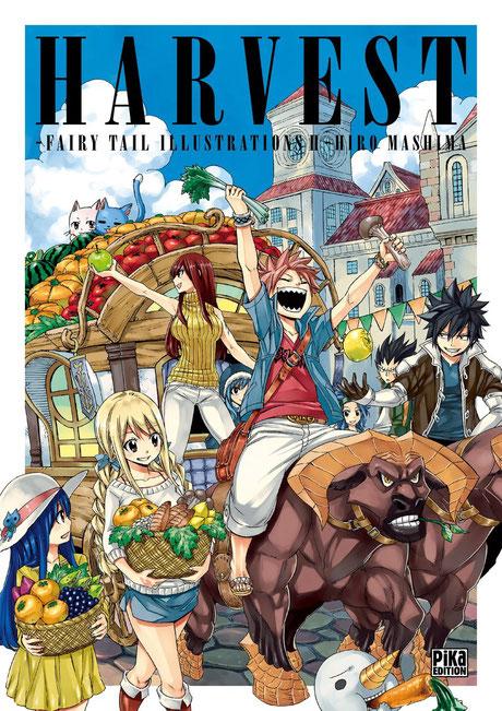 Harvest est le second Art-book de Fairy Tail en vente. Source:http://www.animeland.fr/2017/12/08/lart-book-fairy-tail-harvest-chez-pika-en-janvier/