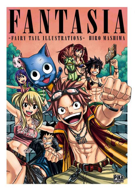 Fantasia est le premier art-book de Fairy Tail. Source:https://www.amazon.fr/Fairy-Tail-Fantasia-MASHIMA-Hiro/dp/2811610359