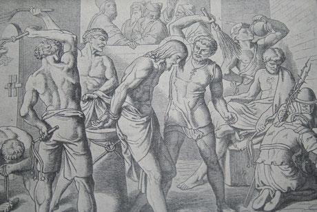 Geißelung Jesu (Zweites schmerzensreiches Geheimnis)