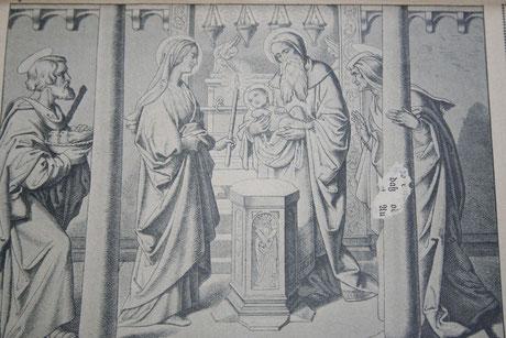 Aufopferung Jesu im Tempel (Viertes freudenreiches Geheimnis)