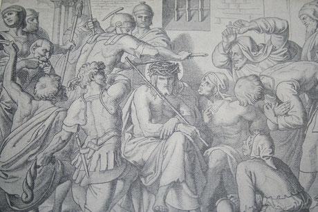 Dornenkrönung Jesu (Drittes schmerzensreiches Geheimnis)