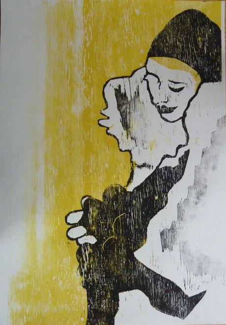 Gelb (43 x 61 cm) 100 €