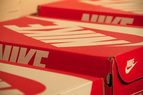 Detailaufnahme - Coole Mode von Nike bei NJUS in Soltau