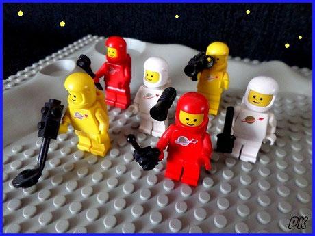 6701 Space Mini Figures