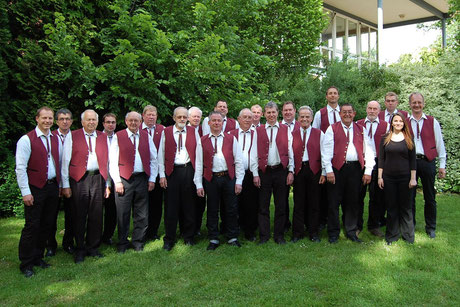 MGV im Juni 2013 (es fehlen: Karl Greive & Wolfgang Müller)