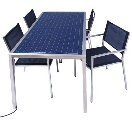Solargarten Tisch - unsere patentierte Erfindung