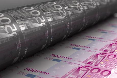 Planche à billets. Automatiser et multiplier les sources de revenus.
