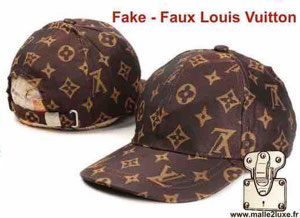 faux Louis Vuitton malle
