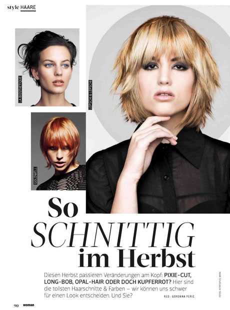 Bericht der WOMAN (September 2015)