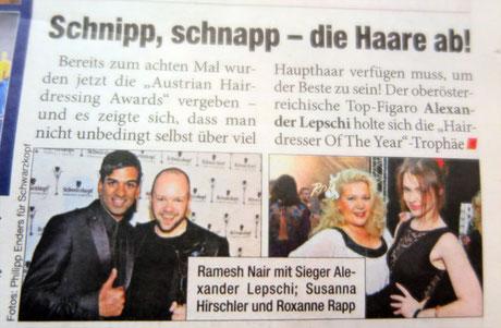 Bericht der Heute-Zeitung vom 28.04.2015