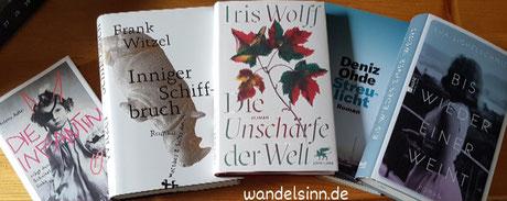 Deutscher Buchpreis 2020 ©wandelsinn