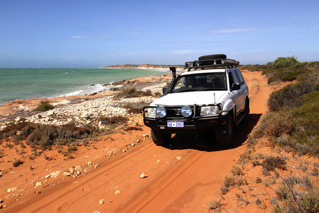 4 WD Tour to Francois Peron National Park in Shark Bay.