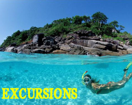 Excursions bateau - Phuket - Guide francophone
