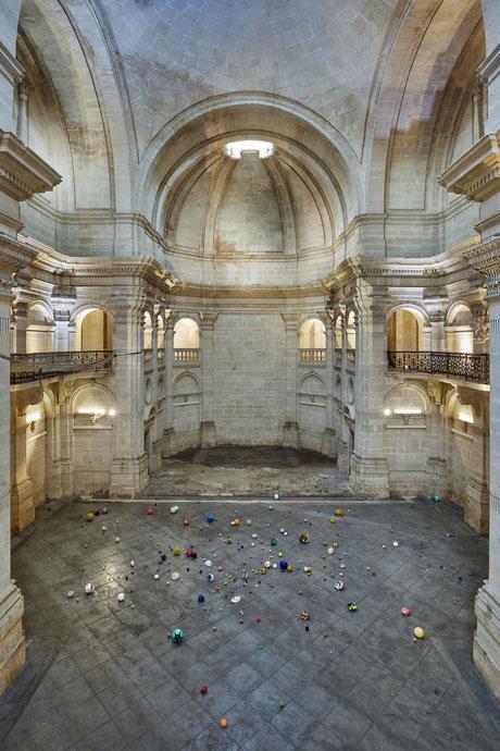 Linda Sanchez & Baptiste Croze, Chapelle des Jésuites, Nîmes © Jean-christophe Lett