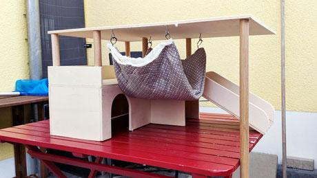 Meerschweinchen Haus DIY Holzarbeit