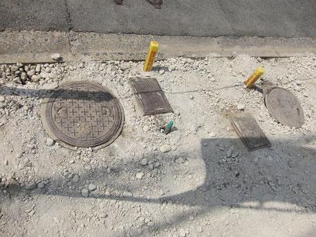 上下水引き込みあり。ただし、上水は管が細いため、管径の太いものにやりかえ。