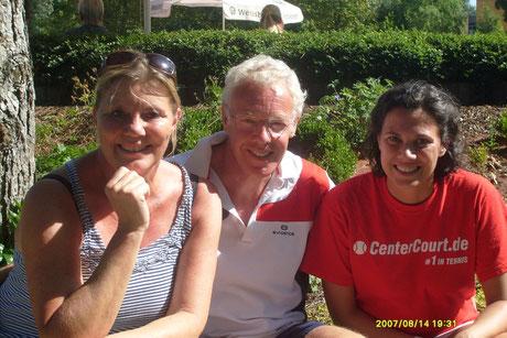 Elke Giersberg, Henning Thiem & Ana Lazaro (es fehlt: Martin Becker)