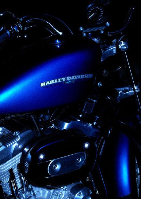 バイク買取ZMSハーレー青画像