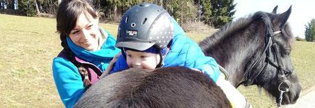 Ponykerstin Reitpädagogik für Kids ab 3 Jahren