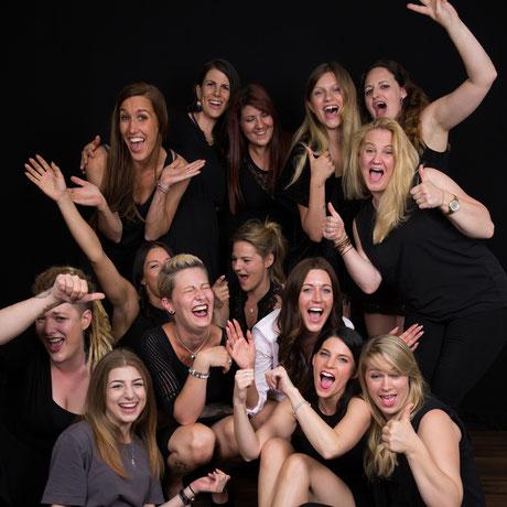 Spass bei Frauen Geburtstagsparty
