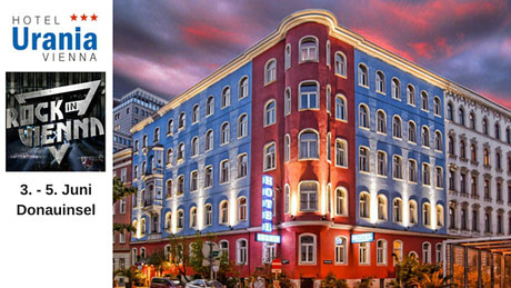 Rock in Vienna - Hotel Romantikhotel Urania Wien Vienna, 1030 Wien www.hotelurania.at