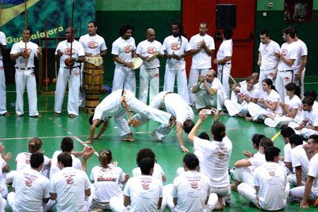 Capoeira-Roda von Abadá Capoeira.