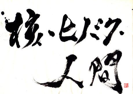 パンフレット題字/野上緑径