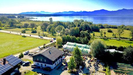 Chiemgau - Do bin i dahaom trifft sich in der Naturwelt Chiemsee