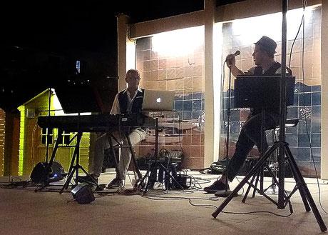 Frank&Pavani sul palco dell'ASTERIA