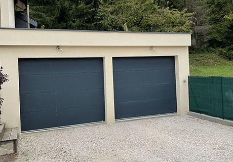 Portes de garage sur-mesure