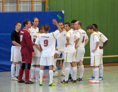 Unser Team beim Turnier (Foto: FC Nettetal 2009 / Bearbeitung: Gött)
