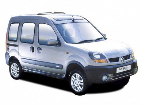 Renault Kangoo 2002 fanale anteriore