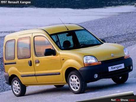 Renault Kangoo 1997 fanale anteriore
