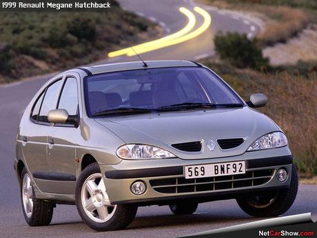 Renault Megane 1999 fanale anteriore