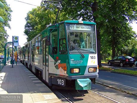 Tatra KT4D in Potsdam