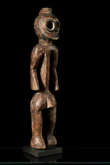 Boki figure with large round eyes