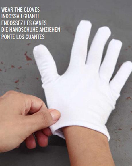 ANYAH ECO-Kosmetik, Handcreme mit Handschuhen