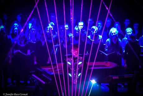 Laser Harp performer, composer & pianist
