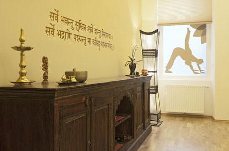 in der Yogapraxis finden auch Yoga & TRE Workshops statt
