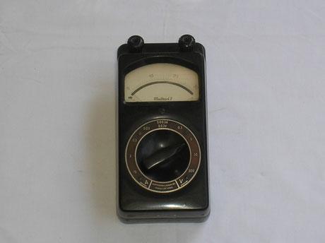 Hartmann & Braun  Vielfach Multimeter Typ. Multavi 1 Gleichstrom