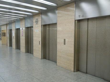 ⑤第1ビル内のエレベーターホールから11Fにお越しください。