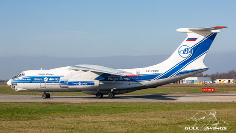 Volga Dnepr | c/n 2073421704 - 93-06 |  Maastricht - Aachen (MST - EHBK) | RA-76951 | Ilyushin Il-76TD-90VD-18 (for the record)