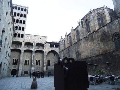 Площадь Короля в Барселоне - история места