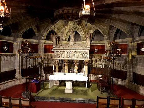 Где похоронена святая Евлалия Барселонская