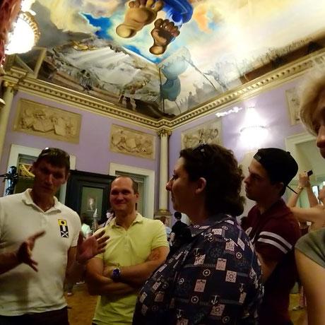 Погружение в Театр-музей Дали - путеводитель по музею Дали в Фигерасе