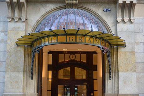 Hotel Granvia - хорошие отели 3 звезды в центре Барселоны