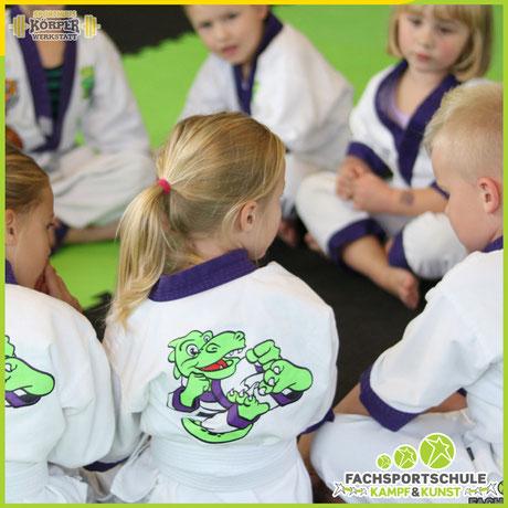Kampfsport Friesoythe - mit Lil Dragon & Hilfe von Kinderkarate erlernen