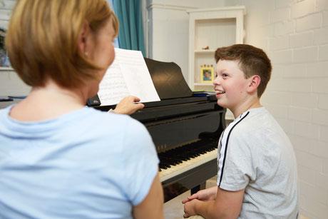 Klavierunterricht in Hamburg -Langenhorn, Schüler